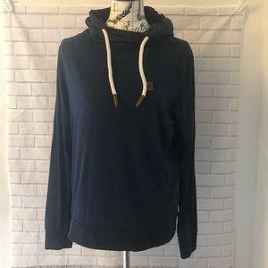 Naketano schmierlappen iv indigo blue hoodie